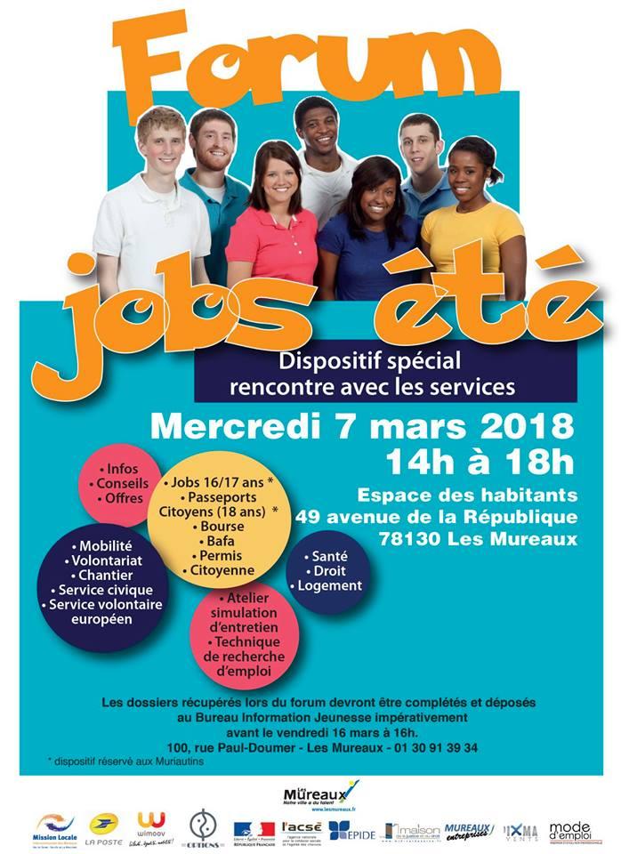 Forum Job ete aux Mureaux