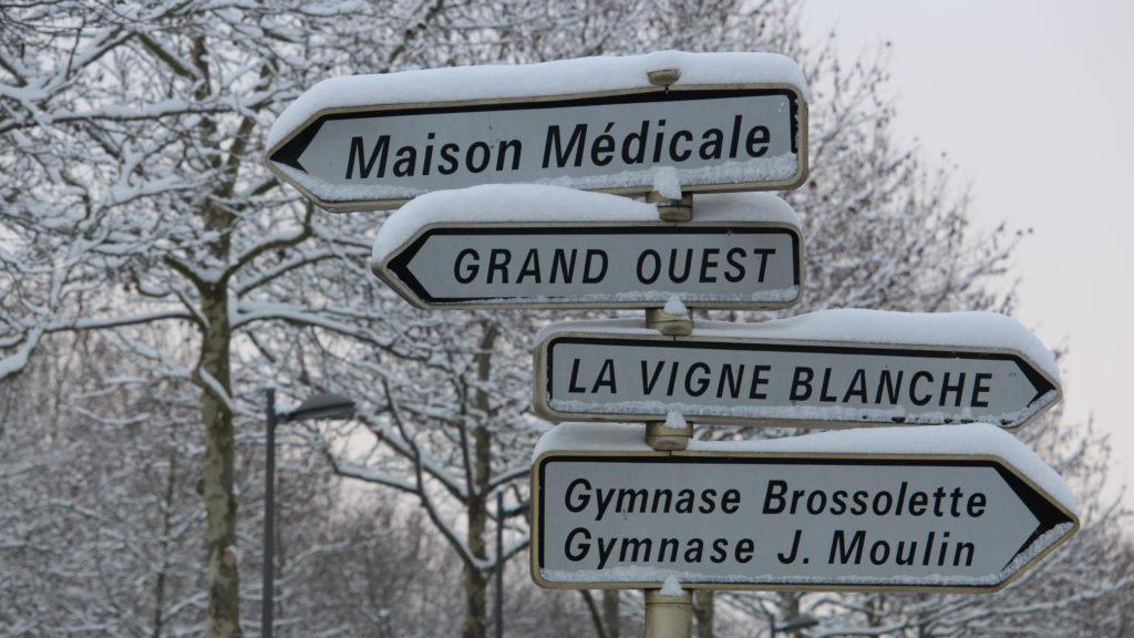 Neige aux Mureaux