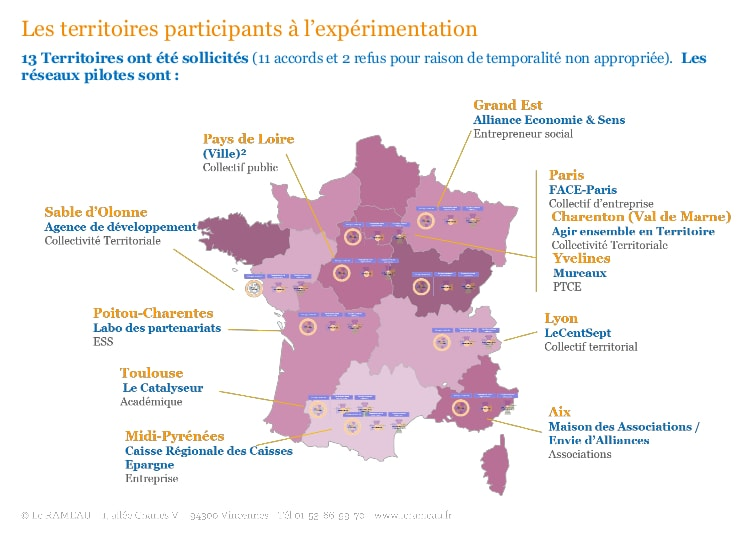 CoConstruction Territoriale Carte