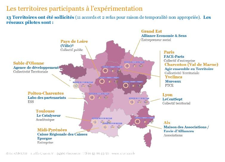 CoConstruction Territoriale Carte