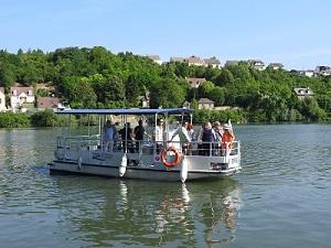 Navette fluviale Les Mureaux