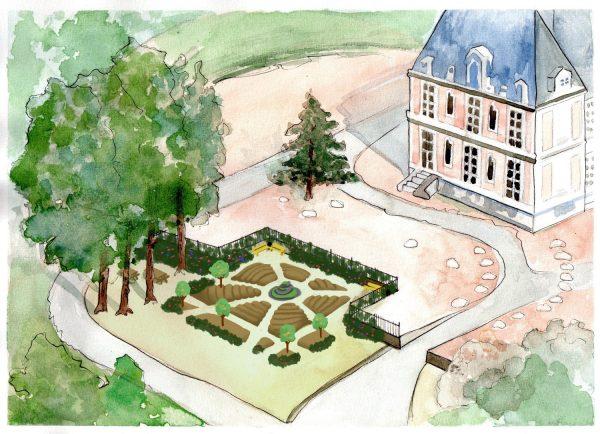 Jardin de la rencontre aux Mureaux