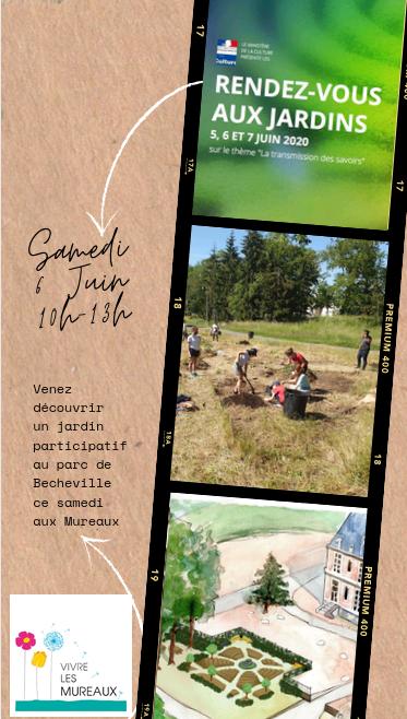 Rdv aux jardins des Mureaux