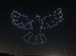 spectacle drone Les Mureaux