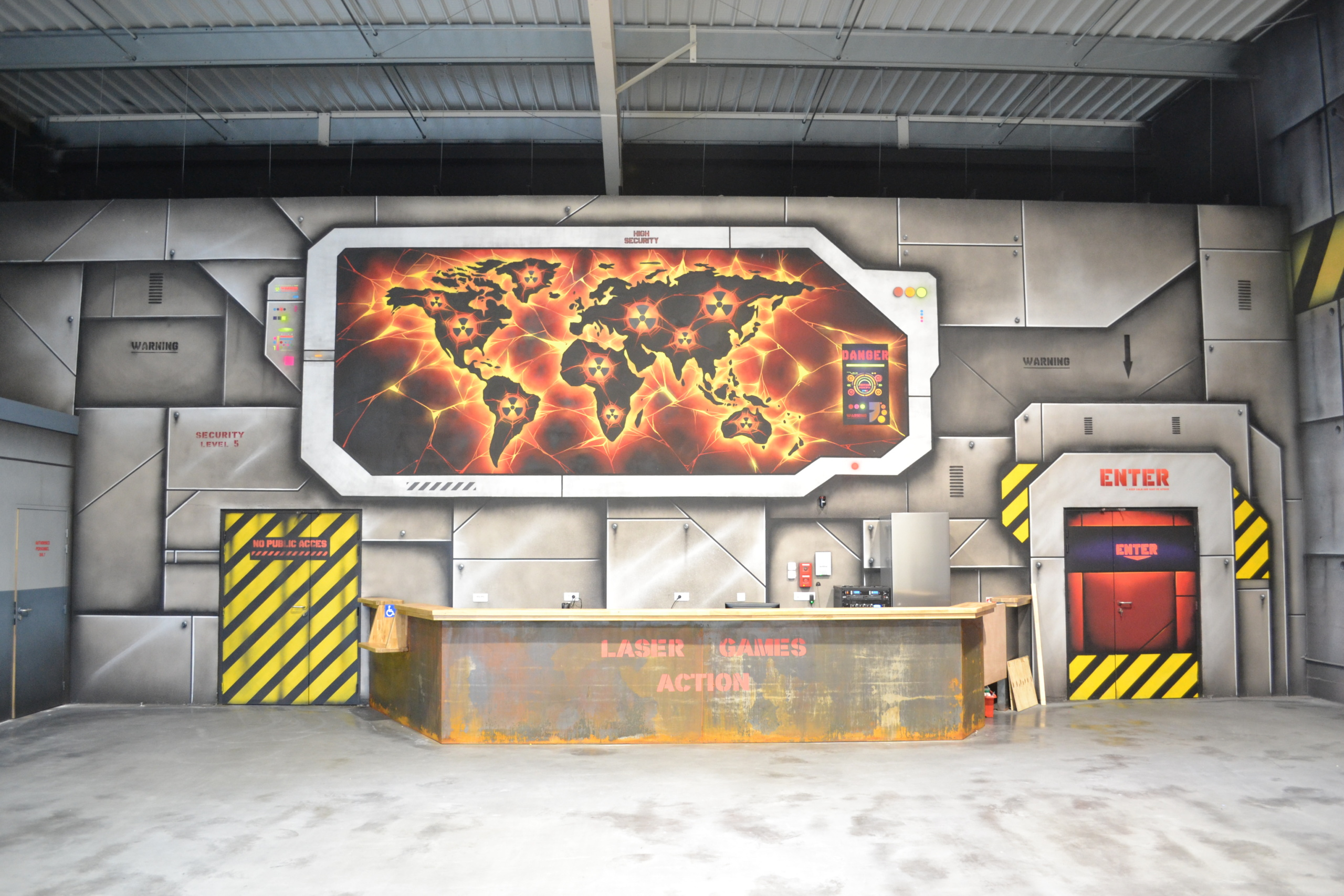 laser games Yvelines