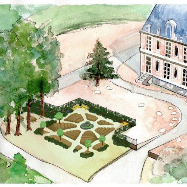Rendez vous aux jardins de La Rencontre à Becheville