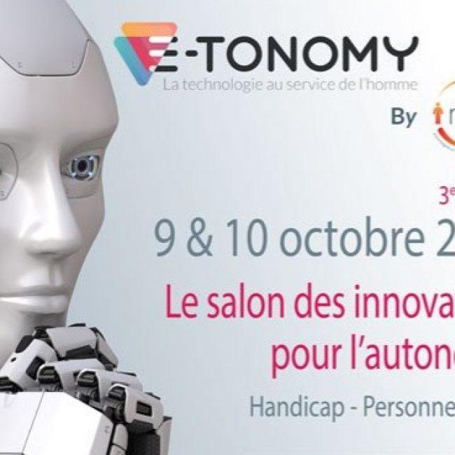 Salon E-Tonomy – 30 septembre et 1er octobre 2020