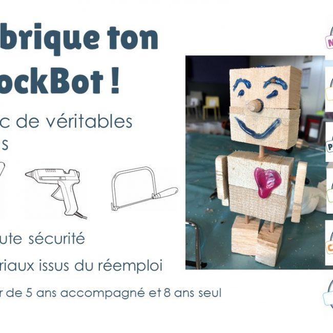 Atelier Création d'un robot de bois