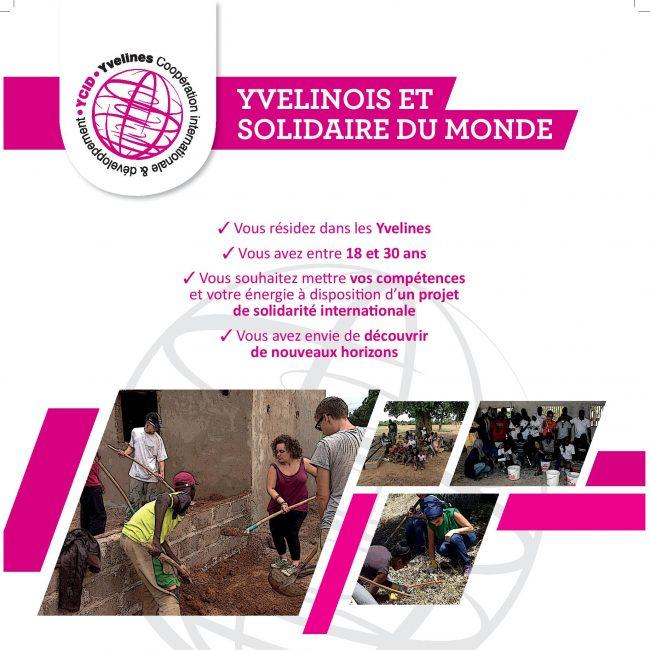 """Bourses jeunes CYAM : """"Citoyens des Yvelines, acteurs du monde"""""""
