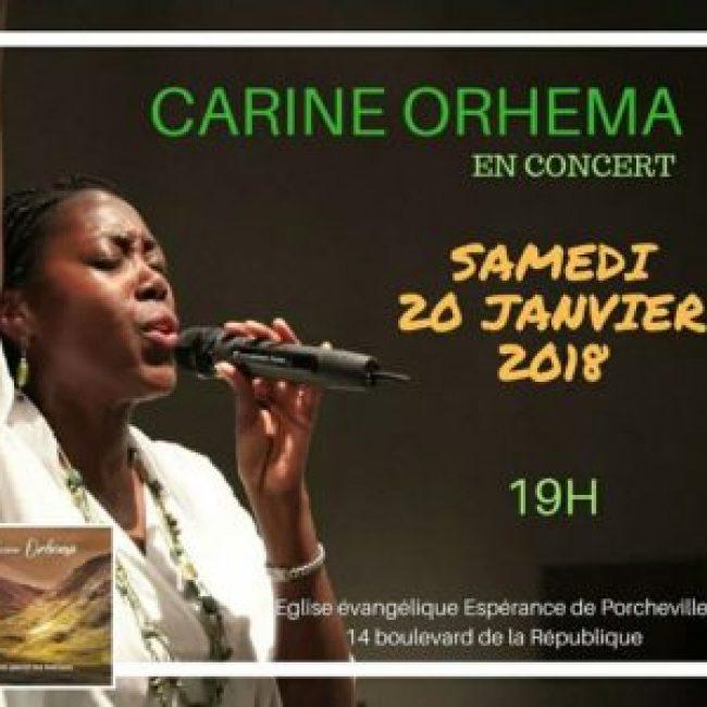 Carine Orhema en concert