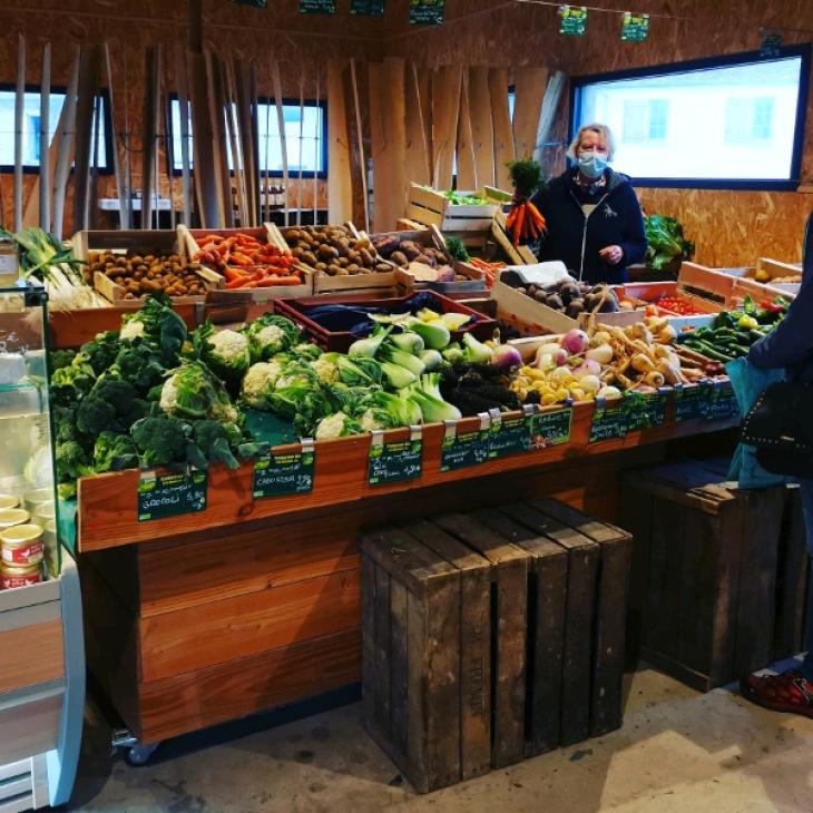 Légumes et fruits bio