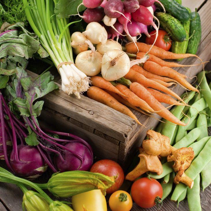 Légumes bio et solidarité