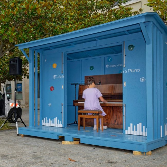 Une « Boite à piano » aux Mureaux