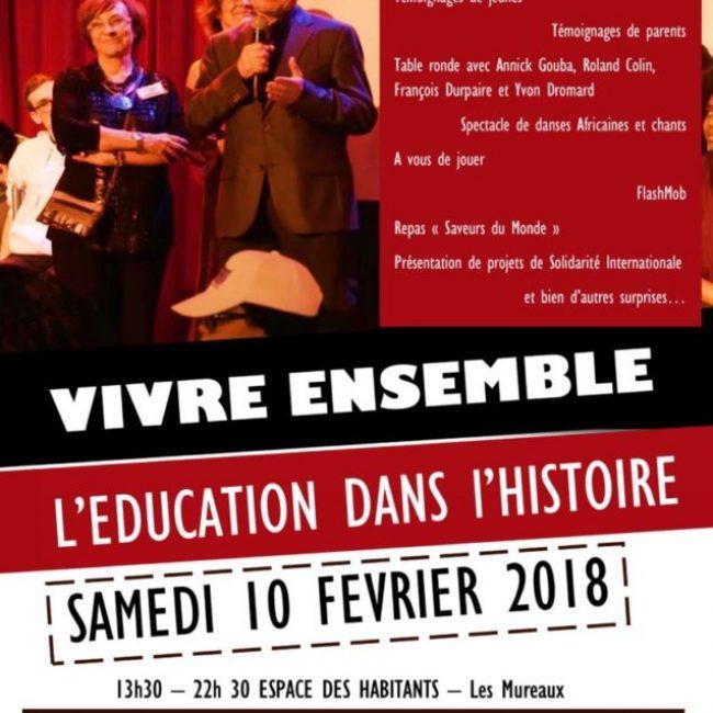 La journée du Vivre Ensemble 2018 aux Mureaux :  «L'éducation dans nos histoires»