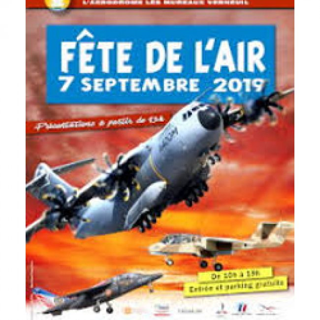 Fête de l'Air 2019 Les Mureaux – Verneuil